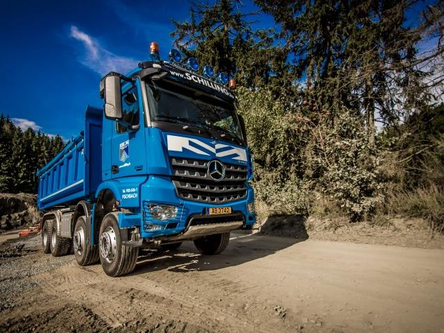 MB Actros 4-Achser